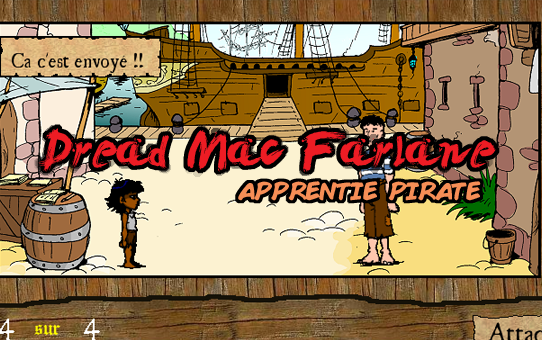 Dread Mac Farlane, apprentie pirate