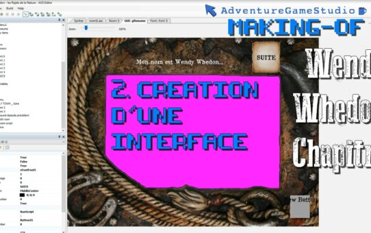 Making-of AGS, Partie 2 : Création d'une Interface