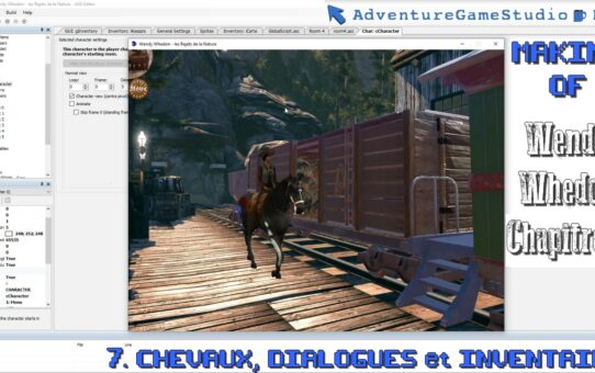 Making-of AGS, partie 7 : Chevaux, Dialogues et Inventaire