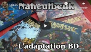 Les BD Naheulbeuk, présentation vidéo