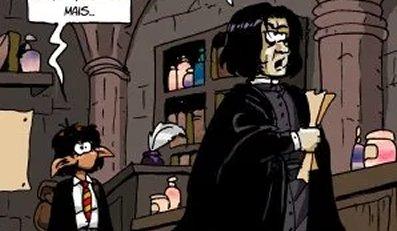 Rêve numéro 8 : Tao vs Severus Rogue