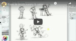 Cours de dessin 9 : mouvement et équilibre