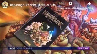 Reportage BD sur France 3