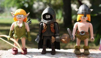 Galerie des figurines et crafting Naheulbeuk