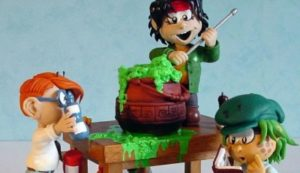 Figurines et Crafting sur Nina Tonnerre