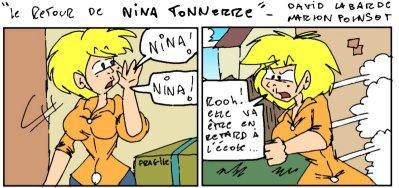 Le Retour de Nina Tonnerre, nouvelle planche !