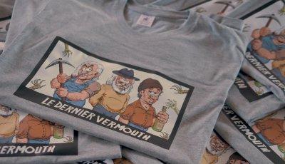Le dernier vermouth – t-shirts