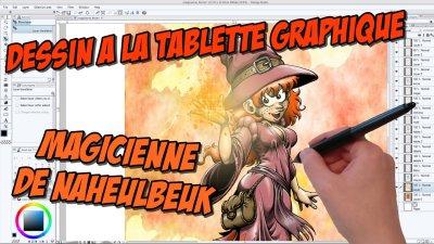 Vidéo : l'illustration de la magicienne