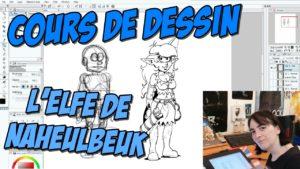 Vidéo : comment dessiner l'Elfe de Naheulbeuk
