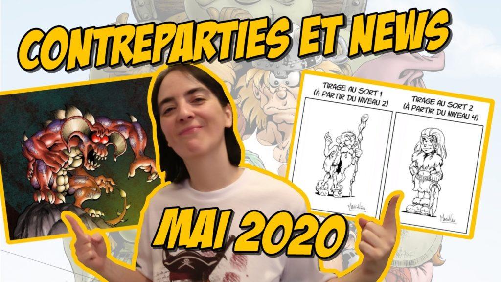 Contreparties et News de Mai 2020