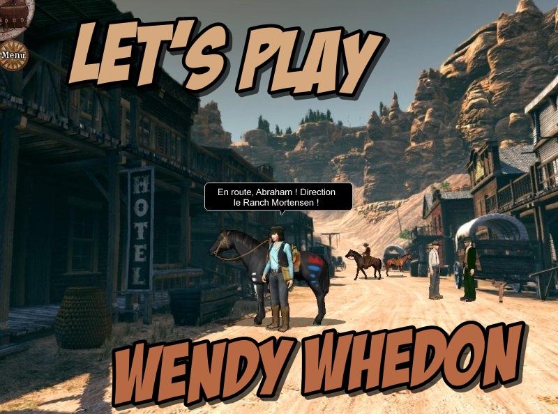 Let's Play : jeu vidéo «Wendy Whedon»