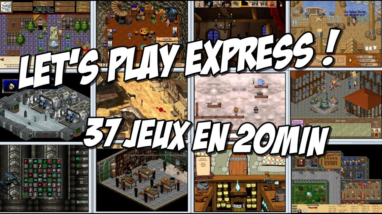 Read more about the article Let's Play Express ! 37 jeux en 20 minutes