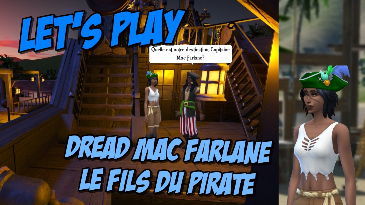 Read more about the article Let's Play : trilogie Dread Mac Farlane