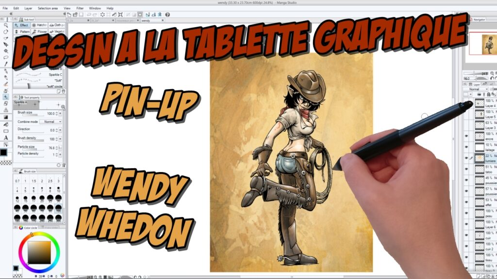 Making-of vidéo : pin-up Wendy Whedon