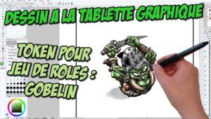 Making-of vidéo : Token Gobelin pour jeux de rôles Naheulbeuk ou fantasy