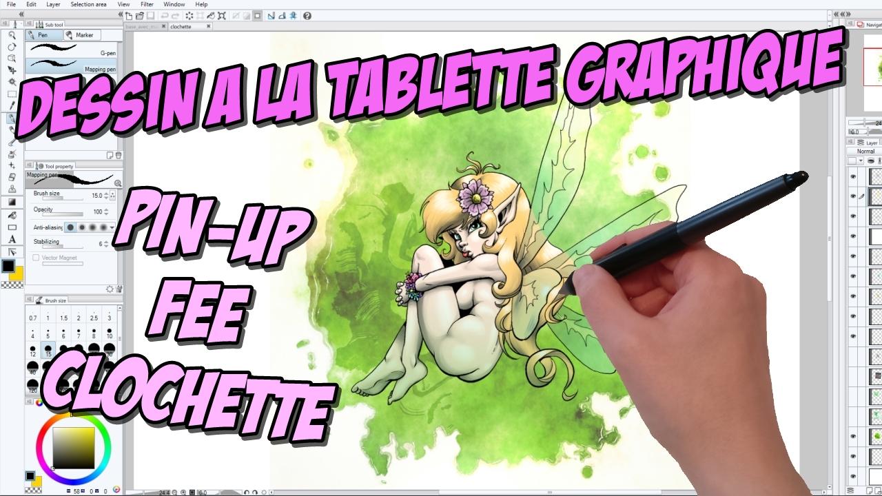 Read more about the article Dessin à la tablette graphique : Tinn-Tamm