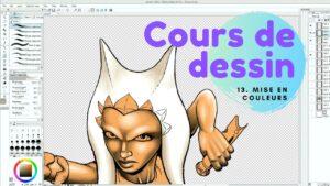 Cours de dessin numéro 13 : la mise en couleurs