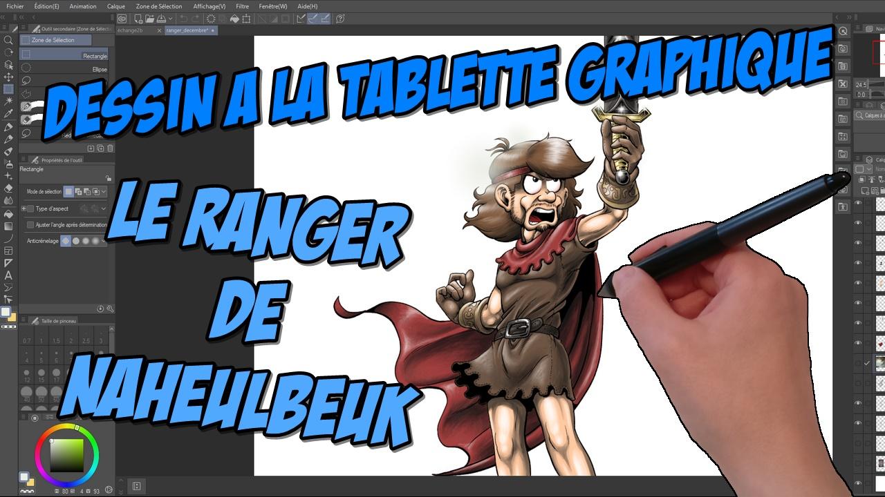 Read more about the article Vidéo : comment dessiner le Ranger de Naheulbeuk (contreparties Novembre 2020)