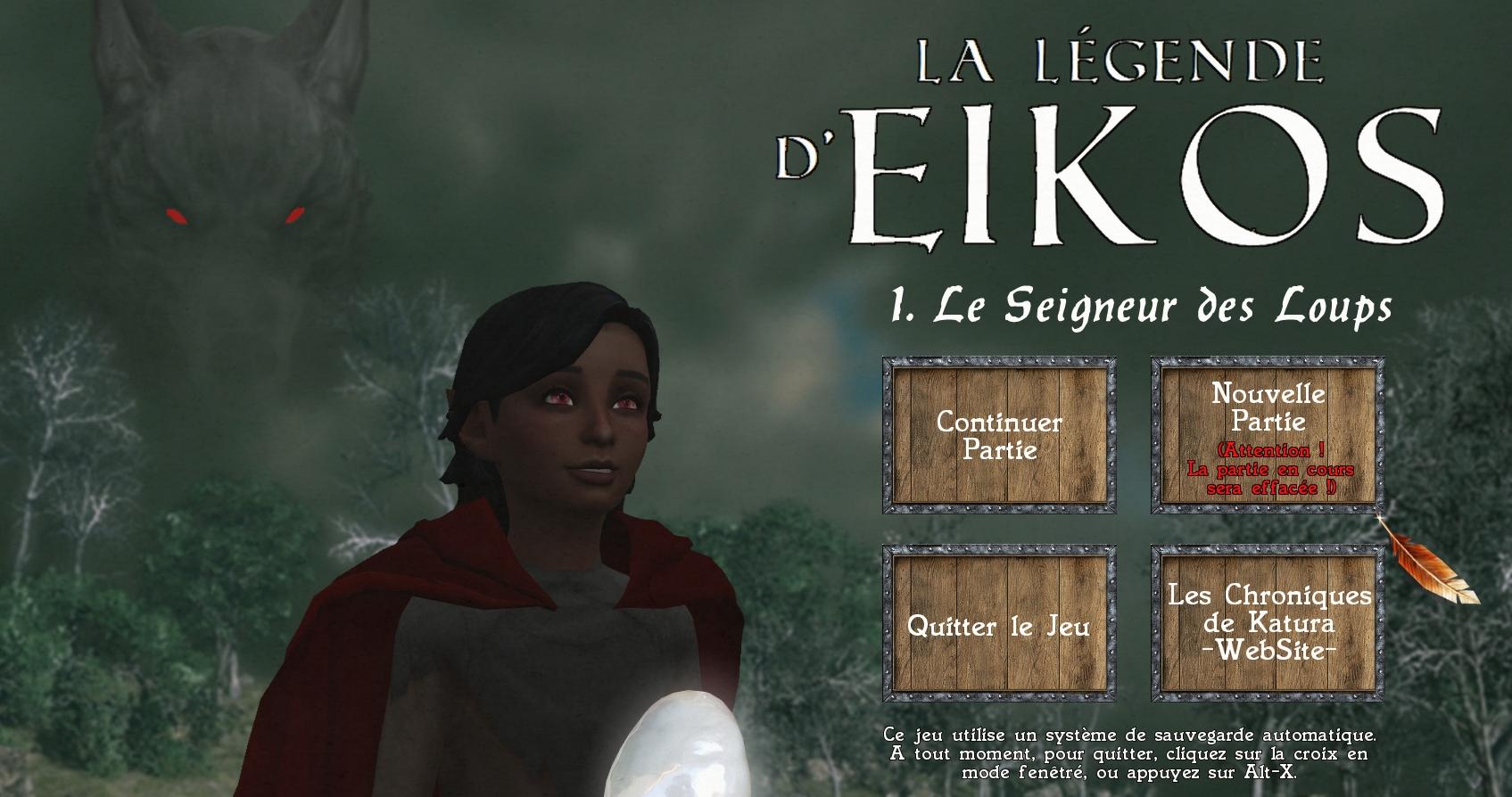 LA LEGENDE D'EIKOS – Le Seigneur des Loups