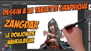 Making-of illustration vidéo : Zangdar