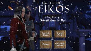 Read more about the article LA LEGENDE D'EIKOS – Réveil dans la Nuit